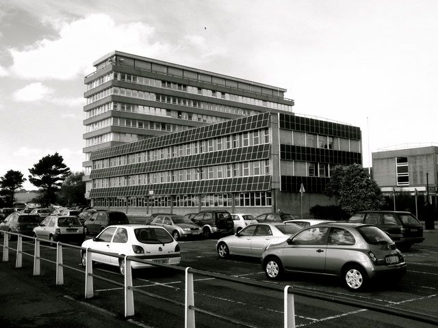 Barnstaple's Civic Centre: the headquarters for Devon County Council.