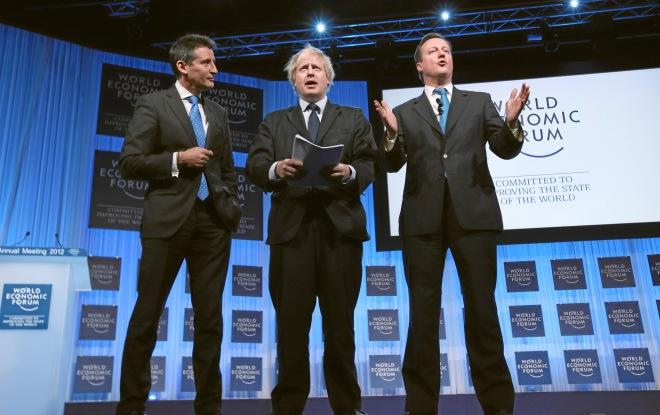 Special Address: Lord Coe, Boris Johnson, David Cameron