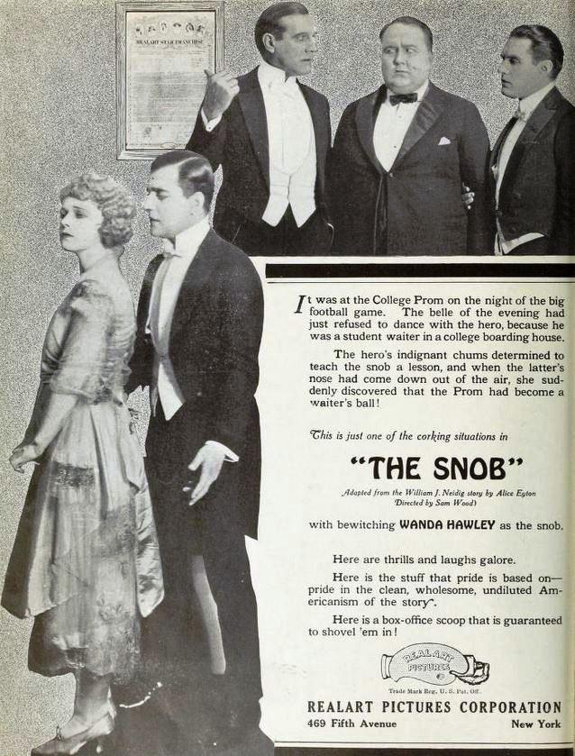 The_Snob_(1921)_-_Ad_1