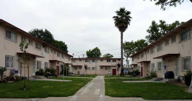 http://en.wikipedia.org/wiki/Ramona_Gardens#mediaviewer/File:Ramona_Gardens_Boyle_Heights_Los_Angeles_California_2.jpg