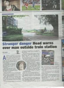 Bristol Post | December 2014 | Stranger danger