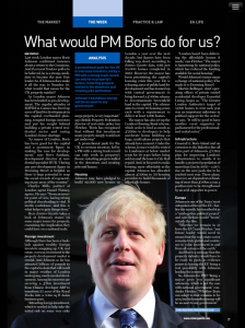 Estates Gazette | August 2014 | Boris Johnson