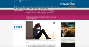 The Guardian | February 2015 | Self-harm